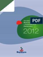 BANESCO - Informe Responsabilidad Social 2012