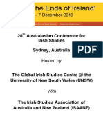 The Ends of Ireland-Symposium Australia