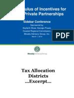 calculus of incentives for public private partnerships kingsland sidebar conference final  30714 revtjc