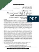 Observatorio de Medios Infantiles, Barranquilla, artículo