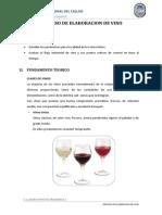 Elaboracion de Vino Lopu