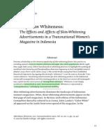 Cosmopolitan Whiteness