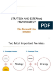 Strategy and Environment