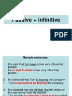 Passive Infinitive