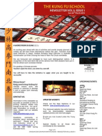 The Kung Fu School NZ Newsletter Vol 3 Issue 1 March 2014