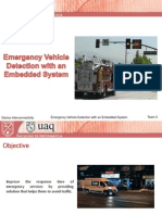 Emergency Vehicle Detection With an Embedded System