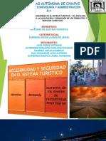 ACCESIBILIDAD Y SEGURIDAD EN EL SISTEMA TURÍSTICO, Y EL PAPEL DEL SECTOR PÚBLICO EN LA FACILITACIÓN Y PROMOCIÓN DE LOS PRODUCTOS Y SERVICIOS TURÍSTICOS