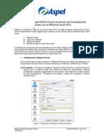 Si te actualizaste a Aspel-CAJA 3.5, Guía para emitir Comprobantes Fiscales con Reforma 2012