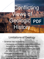 5 2 - conflicting views of geological history