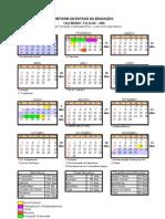 Calendário Escolar 2009