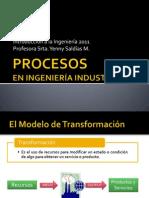 Procesos y Diagramas SIPOC