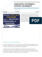 Carreira_ Planejamento estratégico versus Pensamento estratégico - Artigos - Marketing - Administradores
