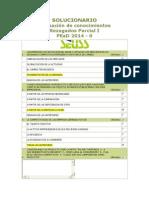 USS - Solucionario Evaluación de conocimientos Rezagados Parcial I PEaD 2014-0