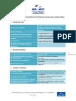Criterios de evaluación empresas proveedoras de insumos y consultoras