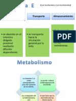 Hematologia Diapositivas Vit E K B1 B2