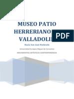 El Museo Elegido Para Realizar La Actividad Propuesta Ha Sido El Museo Patio Herreriano de Valladolid