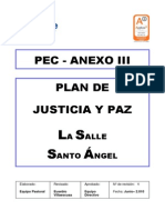 6.4 Plan Justicia Paz