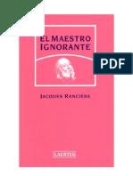 El Maestro Ignorante - Jacques Ranciere_noPW