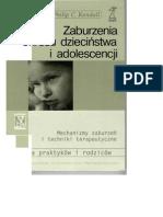 Kendall - Zaburzenia Okresu Dziecinstwa i Adolescencji