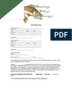 Walleye League Application