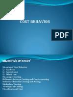 Ch-3 Cost Behavior