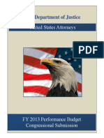 Fy13 Usa Justification