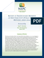 Ttr NYC Reforms Sonecon