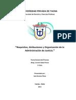 Nombramiento, Atribuciones, y Organigrama Del PJ