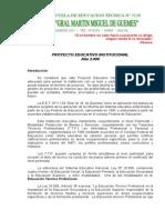 PROYECTO EDUCATIVO INSTITUCIONAL 2.008