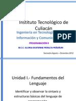 Unidad I. Programcion II
