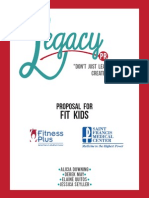 Fit Kids Proposal - MC434 Senior Capstone Project