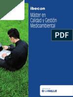 Master en Calidad y Gestion Medioambiental Extensa