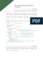 Comunicando com o microcontrolador PIC16F877A através da placa CuscoPIC