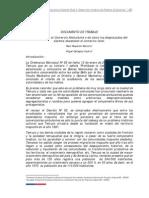 Informe Sobre Comercio Ambulante y Produccion Mapuche