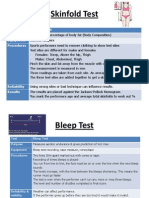 understanding fitness tests