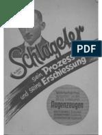 Sengstock, Fassbender und Roggendorff - Albert Leo Schlageter - Sein Prozess und seine Erschiessung (1933)