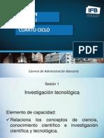 ppt Investigación Tecnologica I CAB 2014 (1)
