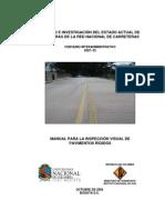manual para inspeccion visual de pavimentos rigidos, invias