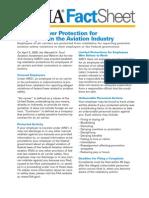 Factsheet Whistleblower Aviation Industry