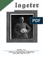 Völkischer Beobachter - Schlageter (1923)