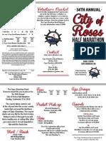 City of Roses - 2014 Registration