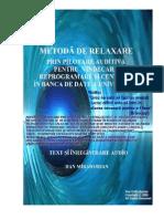 Handbook Manual de Relaxare Pilotata Auditiv