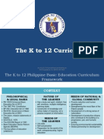 K to 12 Curriculum