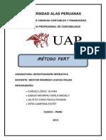Grupo A_metodo Pert