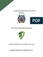 Plan de Desarrollo Institucional FIM 2010-2020