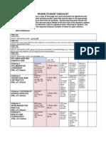 rn-bsn student checklist