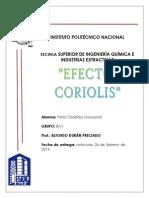 Efecto Corioli