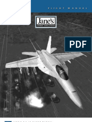 Janes F-18 Manual   Mc Donnell Douglas F/A 18 Hornet