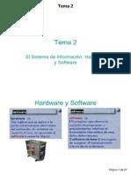 El Software y La Informacion