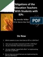 Power Point for Professional Development-Jennifer Wilker